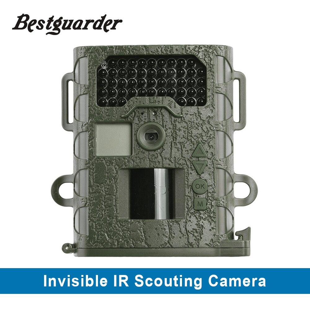 48 pièces Invisible IR DVR 12MP HD caméra de repérage étanche aux intempéries IP66 HD 1280x720 Vision nocturne caméra de suivi de la faune jusqu'à 75ft