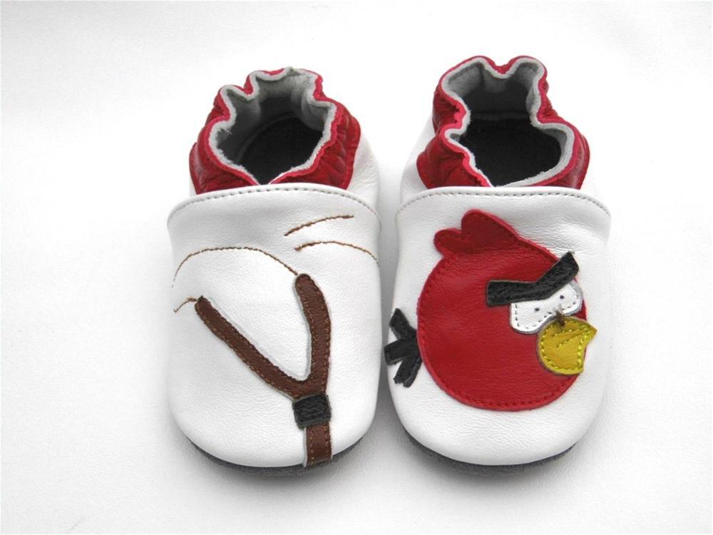 Стильные, гарантированные,, мягкая подошва, натуральная кожа, детская обувь/обувь для первых шагов - Цвет: Белый