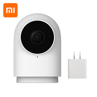 Original Xiaomi Mijia Aqara Smart Camera G2 Work with APP Voice call Zigbee Alarm USB cable Mi Cam For Xiaomi Smart home