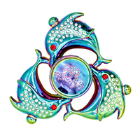 Dolphin Hand Spinner Fashion Spinner Stress New Arrival Hand Spinners Focus KeepToy and ADHD EDC Anti Stress Toys