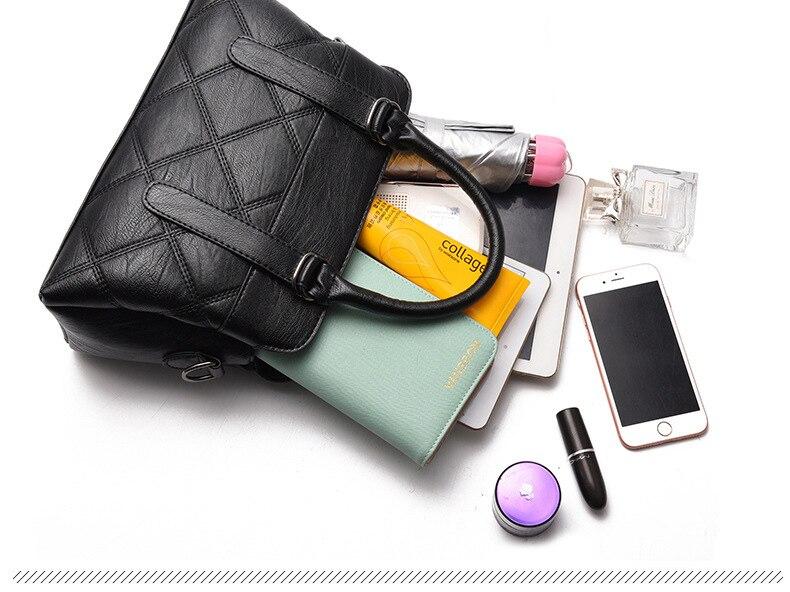 Women Bag 2019 New Women Messenger Bags Fashion Pu Leather Shoulder Bags Handbags Famous Brands, Big Crossbody Bags For Women 17