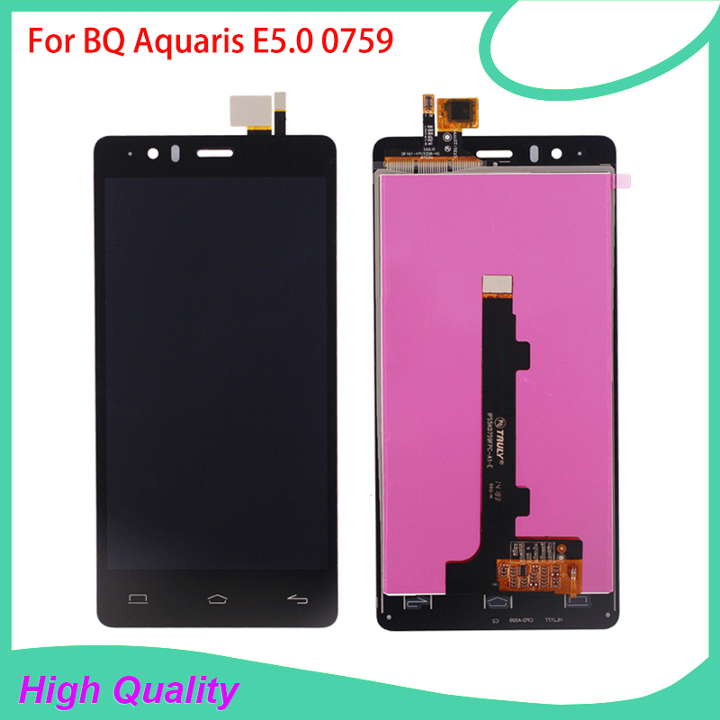 Подробнее о 100%Guarantee LCD Display For BQ Aquaris E5 BQ E5.0 0759 Touch Screen Digitizer Assembly High Quality Mobile Phone LCDs high quality for bq aquaris u aquaris u plus lcd display touch screen digitizer assembly mobile phone lcds free tools price us