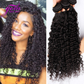 Высокое качество 8A малайзии странный вьющиеся переплетения малайзии афро кудрявый вьющиеся волосы 3 связки 100 человеческих волос может быть отбеленными VIP камень