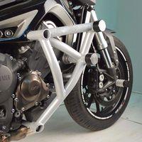 2Pcs Stunt Cage Engine Guard Crash bar Cover Protector for Yamaha MT FZ 09 Tracer MT 09 FZ 09 MT09 FZ09 2014 2015 2016 2017 2018