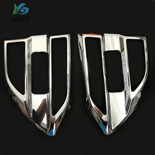 Car Accessories ABS Black Side Fender Guards For FORD RANGER Everest Endeavour 2016 -2019 2pcs