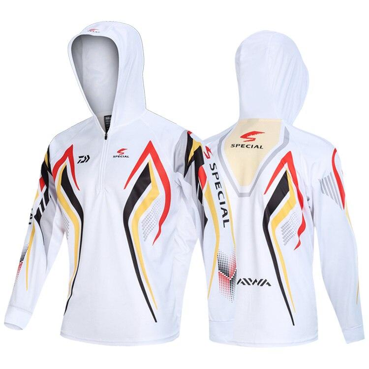 DAIWA летняя одежда для рыбалки куртка с капюшоном водонепроницаемое быстросохнущее пальто рубашка для рыбалки для пеших прогулок велосипедная одежда для рыбалки - Цвет: 22