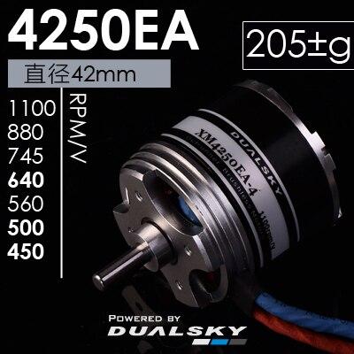 Dualsky xm4250ea outrunner Motores para RC avión 640kv 880kv cielo volar