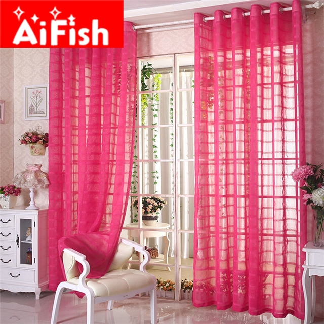 Aliexpress.com : Buy New Arrivel Multicolor Plaid Linen Solid Blinds ...