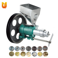 Stainless steel corn puffing food machine/snack food extruder machine