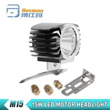 Bosmaa Xenon White 15W 2000LM XHP70 Chip Motorcycle Fog DRL Headlamp Spotlight Hunting Driving Spot Light