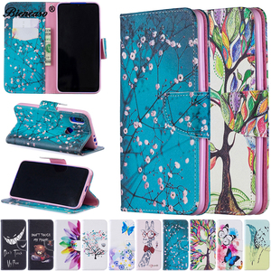 Fashion Flower Flip Case For o