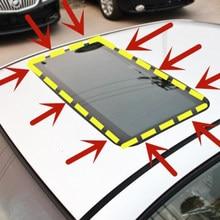 Autocollants de pare-brise en caoutchouc 3M | Bandes de toit-soleil scellées pour voiture, pour Mazda 2 3 5 6 CX5 CX7 CX9 Atenza Axela