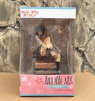 New Comic Anime Saenai Heroine no Sodatekata Katou Megumi on Sofa Sexy Aniplex 18cm PVC Action Figure Toys