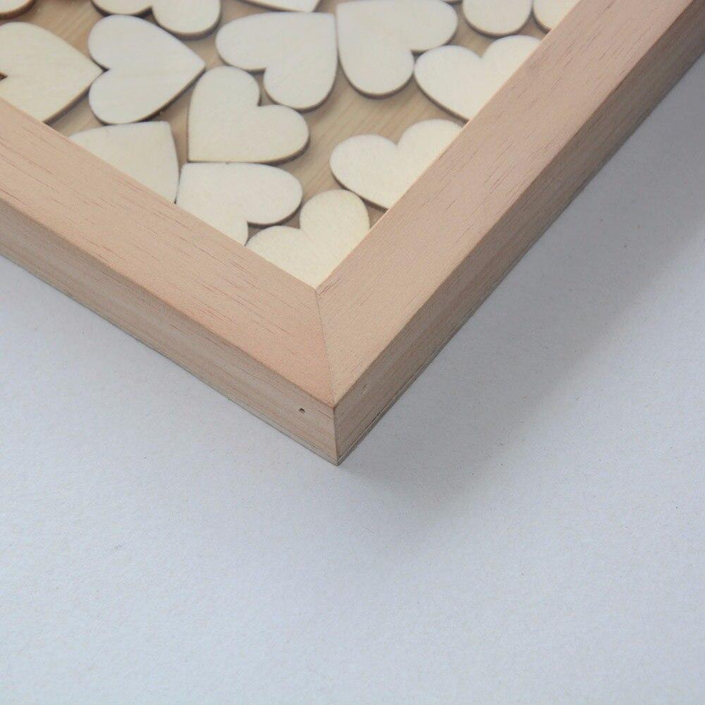 Boda rústica Libro de visitas Regalos de boda alternativos en 3D - Para fiestas y celebraciones - foto 2