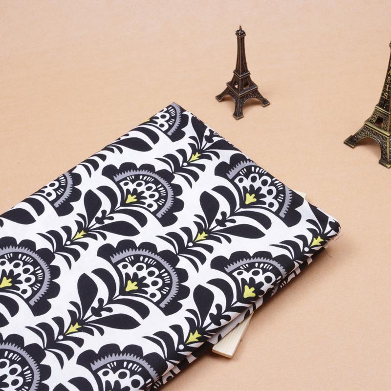 Textiles para el hogar 2 unids/lote 150 * 50 cm 100% algodón VB tela del remiend