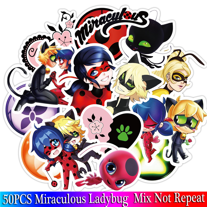 50pcs-pack-miraculous-ladybug-stickers-set-stickers-for-kids-luggage-skateboard-laptop-cartoon-anime-stickers-for-children