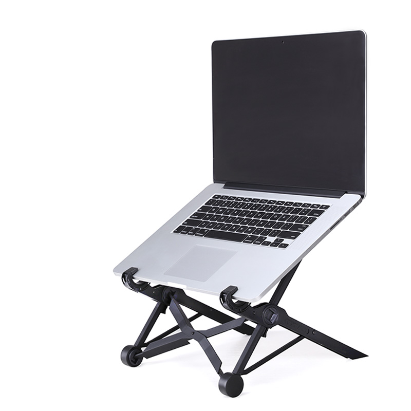 NEXSTAND K2 laptop stand folding portable adjustable laptop lapdesk office lapdesk ergonomic notebook stand vmonv laptop cooling stand for macbook air pro retina 13 3 portable adjustable computer lapdesk office pc notebook riser stand