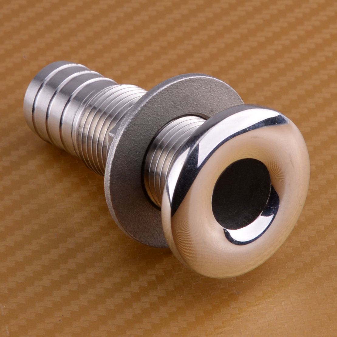 1 Inch Durable Hose Stainless Steel Thru Hull Fitting Fits for Boat Marine