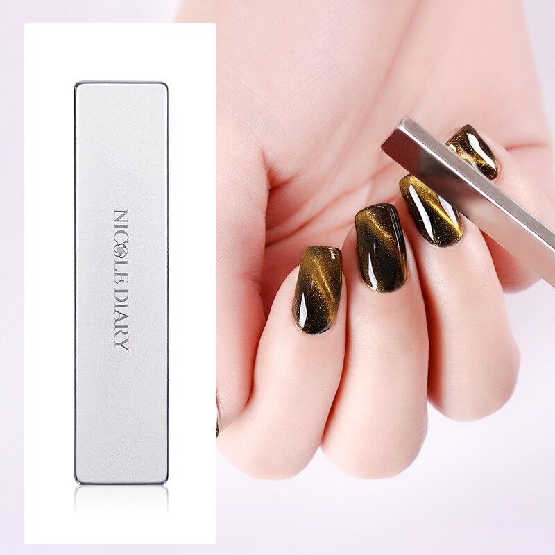 12 Styles Cat Eye Gel Magnetic Board Nail Art Tool 1