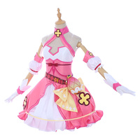Аниме Honkai Impact 3 костюмы для косплея Волшебная девочка TeRiRi Theresa Апокалипсис платье на день рождения наряд