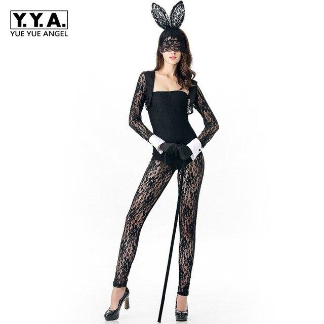 2018 new arrival ladies sexy rabbit girl costume cartoon tuxedo
