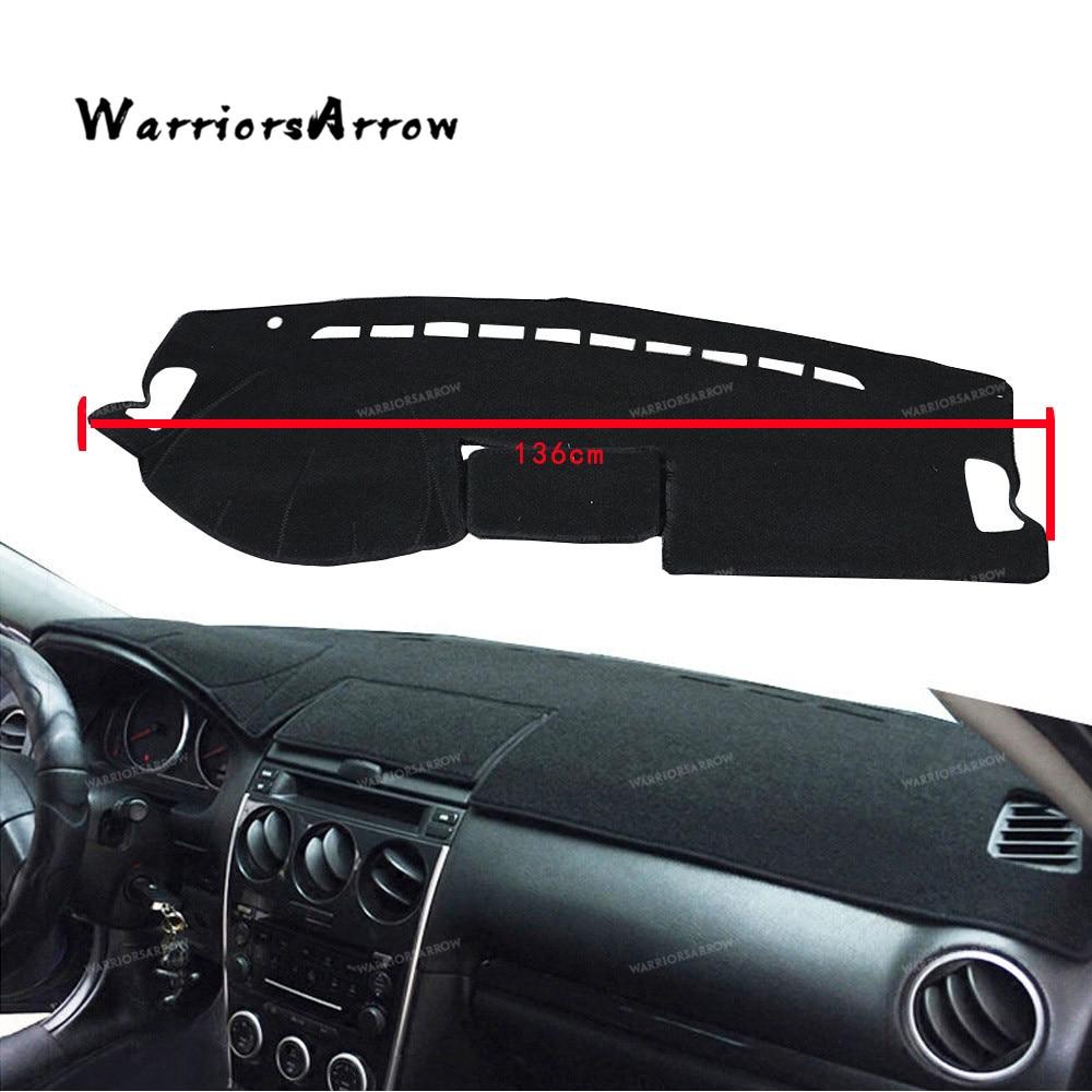 For Volkswagen Touareg Black Dashmat Dashboard Mat Dash Cover Sun Visor Pad