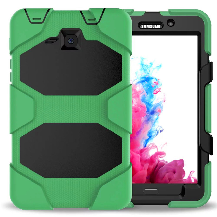 check out 09724 be895 For Samsung Tab A6 7.0 Inch Case For Samsung Galaxy Tab A 7.0 T280 T285  Cover Tablet Silicone Shockproof Heavy Duty Hang Funda