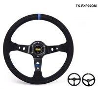 Modificato volante In Pelle Scamosciata volante in pelle gara automobilistica volante volante TK-FXP02OM