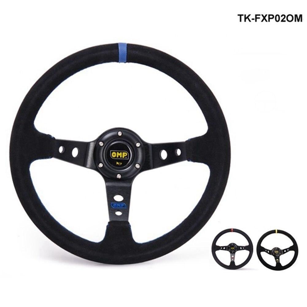 Pivot Modified Steering Wheel Suede Leather Steering Wheel Automobile Race Steering Wheel 13 Steering Wheel TK