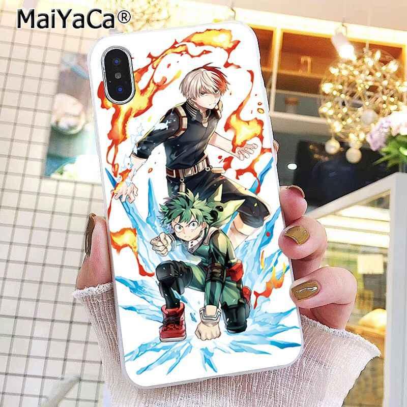 Maiyaca Anime Mijn Hero Academia Deku Bakugou Boku Geen Hero Academia Telefoon Case Voor Iphone 11 Pro 8 7 6 6S Plus X Xs Max 5 5S Se Xr