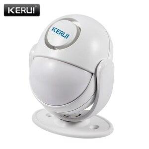 Image 2 - KERUI WP7ที่มีประสิทธิภาพไร้สายWiFi Burglar Home Security Alarm System AppควบคุมอินฟราเรดPIR Motion Detector Alarm