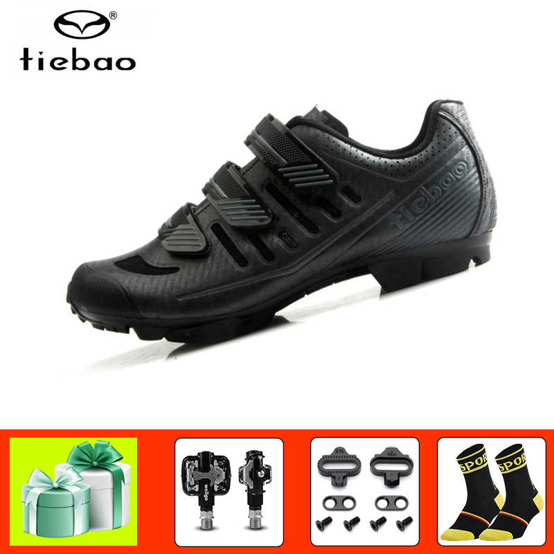 Tiebao cycling shoes sapato ciclismo mtb 2019 men women bicycle pedals mountain bike shoes outdoor self-locking mtb sneakers