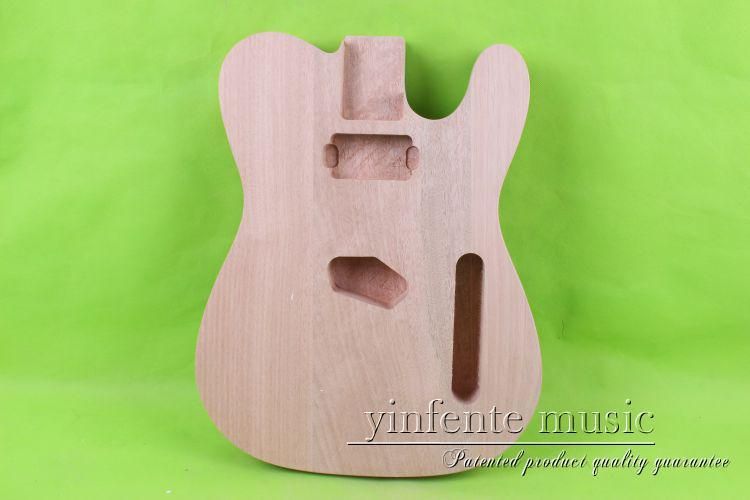 купить one 0015# unfinished  electric guitar body  mahogany made and дешево