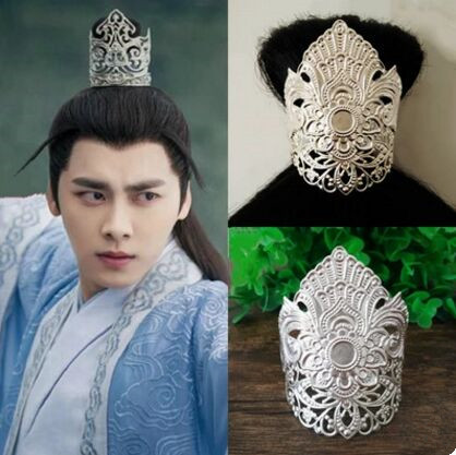 Boys Costume Accessories Useful Ancient Hair Ornaments Vintage Hair Accessories Vintage Hair Decoration Hair Clip Cap Crown Warrior Cosplay Accessories
