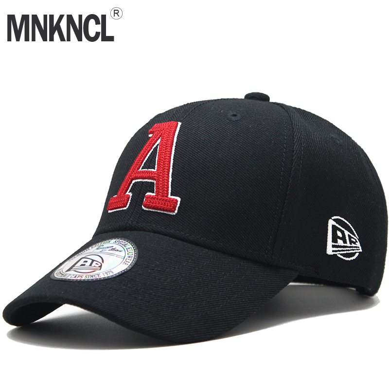 MNKNCL High Quality Baseball Cap Unisex Sports Leisure Hats Letter Embroidery Sport Cap for Men and Women Hip Hop Hats sterbakov unisex embroidery youth letter baseball cap men s