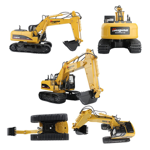 Image 4 - RC Truck Excavator Crawler 15CH 2.4G Remote Control Digger Demo Construction Engineering Vehicle Model Electronic Hobby Toys