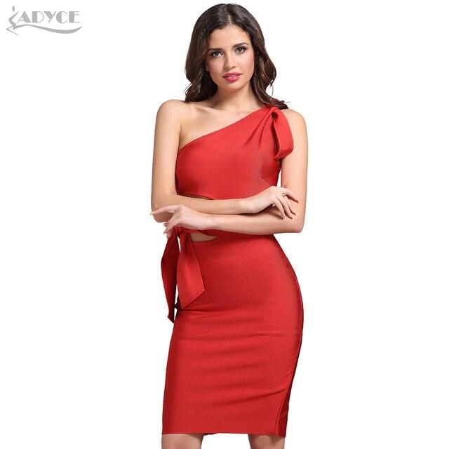 Casual Red Black Apricot One Shoulder Tassel Celebrity Runway Party Dresses Vestidos 5
