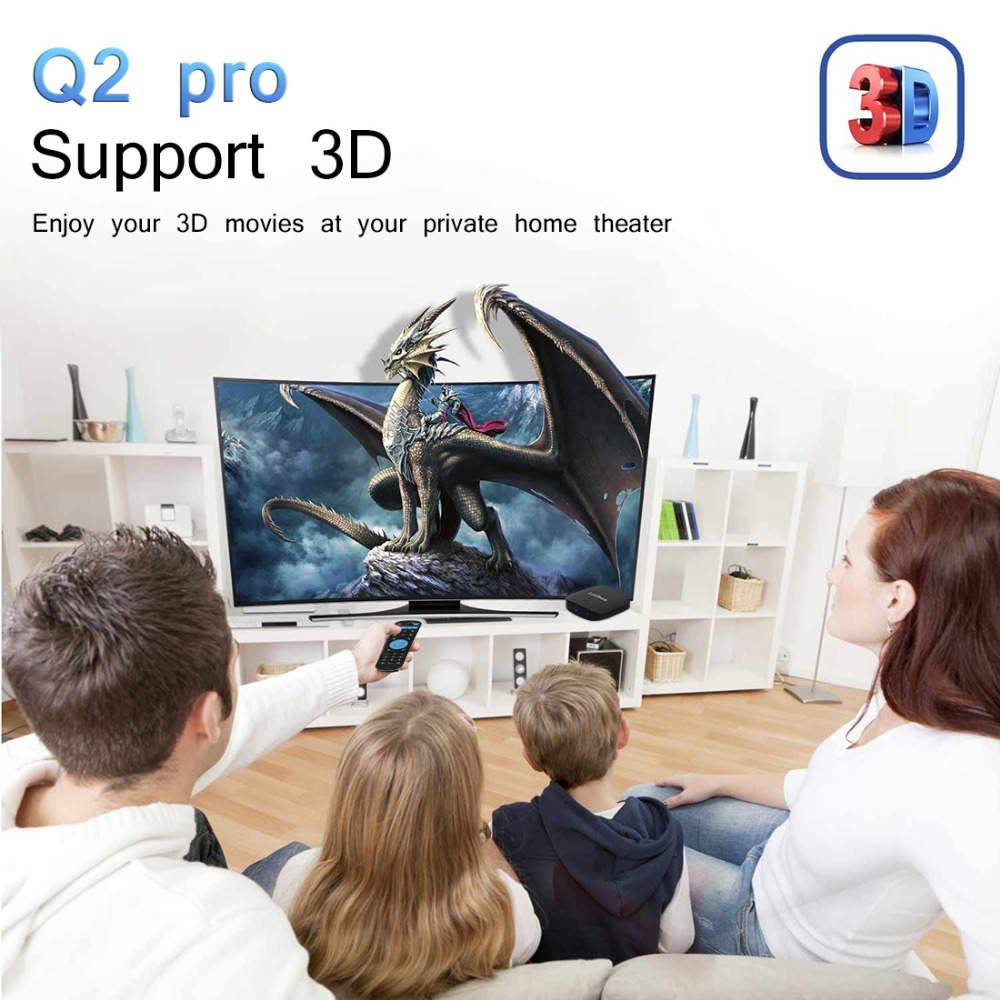 US $148 15 5% OFF|Leelbox Q2 Pro TV BOX Android 7 1 iptv free adult italy  arabic indian turkey Install fire IPTV See 2500 channl-in Set-top Boxes  from