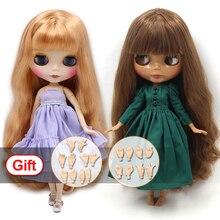 ICY DBS Blyth 인형 조인트 바디 선물로 AB 세트 BJD 패션 인형 소녀 장난감