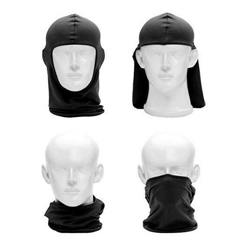2 Teile/satz Outdoor Sport Neck Motorrad Gesicht Maske Winter Warme Ski Snowboard Wind Kappe Polizei Radfahren Sturmhauben Gesicht Maske