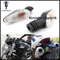 For DUCATI Monster 695 696 796 821 1100/S/EVO 1200 Front of the Motorcycle / Back Turn Signal Indicator Light for the Lamp