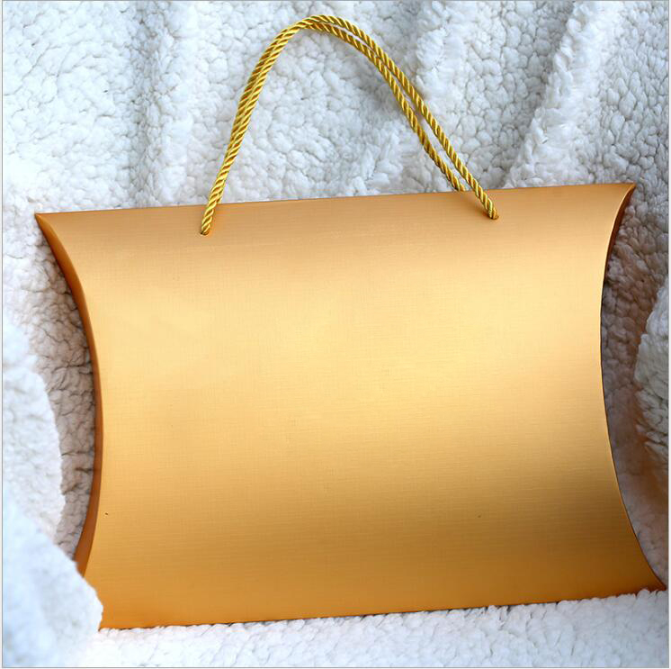 Aliexpress Com Buy Custom Printing Logo Hair Bundle Packing Golden Color Box Hair Extensions