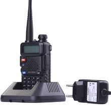 BaoFeng UV-5R Walkie Talkie Professional CB Radio Baofeng UV5R Transceiver 128CH 5W VHF&UHF Handheld Hunting+USB program cable