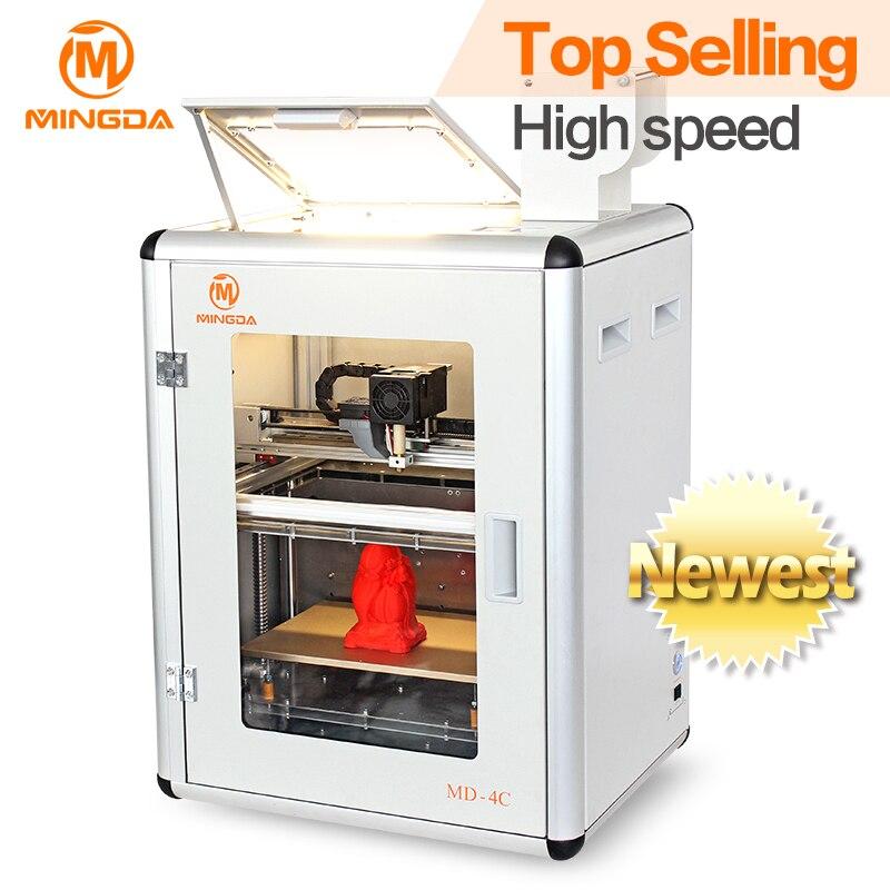 2016 nouvelle imprimante 3D de fabricant professionnel en chine, imprimante 3d pour 300*200*200mm, machine d'imprimante de cadre en métal 3d