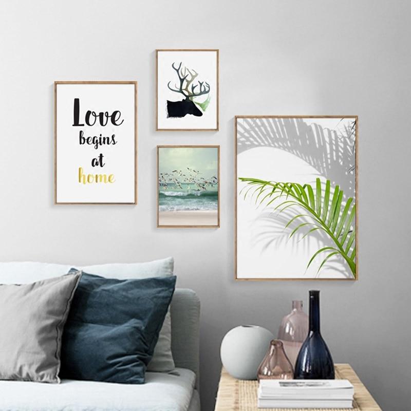 https://ae01.alicdn.com/kf/HTB1hngYg6ihSKJjy0Flq6ydEXXaA/N-rdico-Cartazes-En-Muur-Canvas-Prints-Vertente-Schilderij-Groen-Blad-Muur-Fotos-Voor-Woonkamer-Herten.jpg