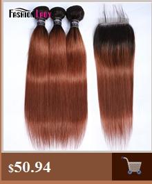 HTB1hngic8Cw3KVjSZFlq6AJkFXaF Fashion Lady Pre-Colored Ombre Brazilian Hair 3 Bundles With Lace Closure 1B/ 99J Straight Weave Human Hair Bundle Pack Non-Remy