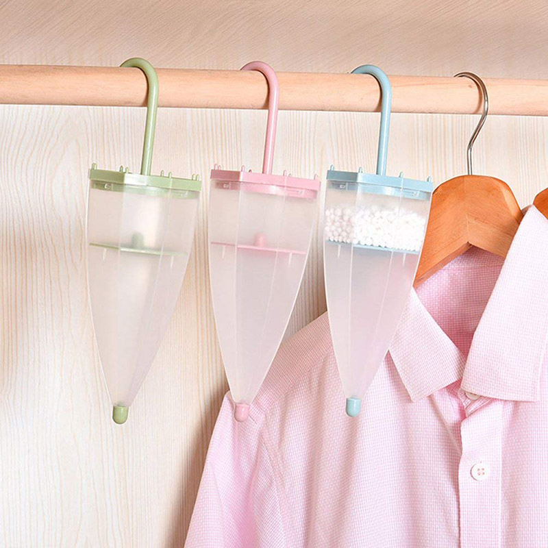 Umbrella Shape Hanging Moisture Absorber Household Reusable Space Interior Dehumidifier Bags Moisture Box For Wardrobe UYT Shop