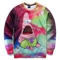 Autumn tops men/boy cartoon sweatshirts 3d print animation character funny galaxy hoodies pullover