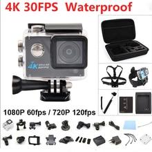 4K Action Camera 1080@60FPS Full HD Sports Video Camera Wifi 30M Waterproof 2.0inch LCD Helmet Camera Fotografica Cam kamera