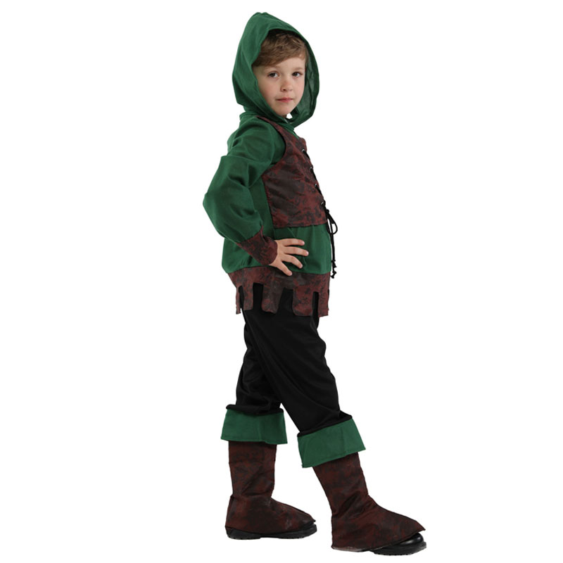 Halloween Robin Hood Costume Irish Green Youth T-Shirt